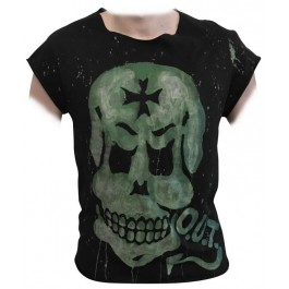 CROSS SKULL T-SHIRT